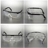 Vidros de segurança transparentes da lente do frame azul ajustável