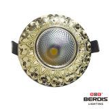 antigüedad LED Ceilinglights de la decoración 3W con el disipador de calor de aluminio de fundición a presión a troquel