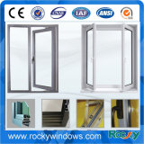 Thermischer Bruch-Aluminiumneigung-u. Drehung-Doppelverglasung-Glasfenster