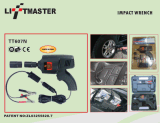 DIGITAL Display及びTorque Configurationの12V Impact Wrench