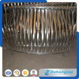 Frontière de sécurité de fer travaillé de qualité de fournisseur de la Chine