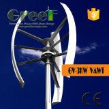 Turbina di vento verticale del sistema nazionale 3kw con la BV