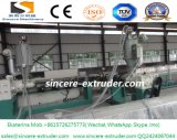 Riga macchina di Prudoction del tubo dell'HDPE MDPE del tubo del polietilene di espulsione della pianta di fabbrica