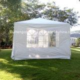 De openlucht Zijgevels van het Paviljoen Gazebo W/Wo van de Tent van het Huwelijk van de Partij van de Luifel Witte