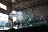 prateleira decorativa do canto do vidro Tempered de /Drawer do banheiro de 8mm, vidro da prateleira
