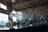 da gaveta de vidro decorativa de vidro do gabinete de 8mm Sheif vidro Tempered de vidro