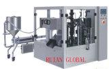 Empaquetadora rotatoria para la loción del champú