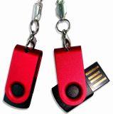 Mini programa piloto del USB del eslabón giratorio del disco de destello del USB del metal