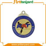 リボンが付いているカスタマイズされた安いレトロメダル