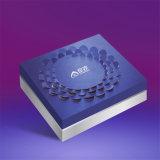 Lujo ronda plegable cosmético regalo de chocolate de papel de embalaje cuadro