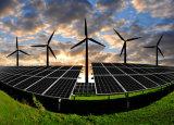 réverbère solaire de générateur de turbine du vent 400W