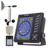 Estação de tempo da velocidade do vento, sentido de vento, temperatura, umidade, Air-Pressure
