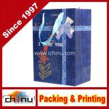 Хозяйственная сумка бумаги картона Wihte бумаги искусствоа (210001)