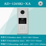 Videotür-Telefon-Shell (AD-126SKi-XA)