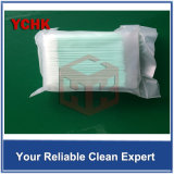 小型ポリエステル先端の特別に長いハンドルが付いている使い捨て可能なTexwipeのクリーンルームの綿棒