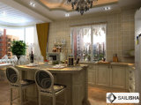 Armadio da cucina di legno della Turchia dell'hotel dell'isola domestica moderna della mobilia