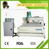De fabriek voorziet CNC van de Houtbewerking van 2 Hoofden Machine van Ce (ql-1218)