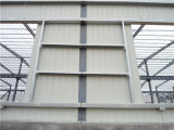 Edificio de acero prefabricado 727 de la estructura de acero del edificio industrial de la fábrica