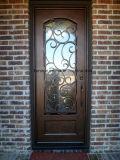 極度の品質によってカスタマイズされる錬鉄の単一のドア