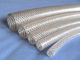 Mangueira trançada do PVC do fio de aço ou da fibra da sução flexível