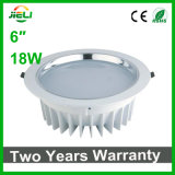 "Coulant 6 "" 18W Downlight enfoncé par DEL blanc"