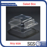 Bandeja clara plástica del envasado de alimentos