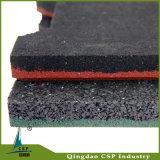 Machine à paver noire à haute densité en caoutchouc de couleur de passage couvert extérieur