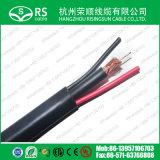 Zusammengesetztes Kabel 20AWG Rg59+18/2 18AWG Spannungs-Kabel