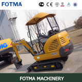 Sale Small Size Excavator를 위한 Xe15 Mini Digger Backhoe