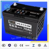 Baterias acidificadas ao chumbo com a bateria cobrada seca JIS60 da bateria do Mf