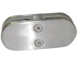 Нержавеющая сталь струбцина стекла 180 градусов