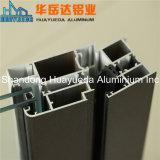 Алюминий профиля штрангя-прессовани алюминиевого сплава дальнейшей обработки для двери и окна
