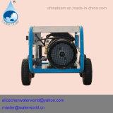 Líquido de limpeza da pressão com a bomba de água de alta pressão