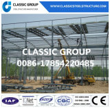 鋳鉄の鉄骨フレームの構造の倉庫か鉄骨構造