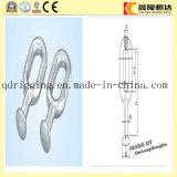 Galvanisierte Stahlkugel-Augen-/Gabelkopf-Kugel-Kopf-Fessel für elektrischer Strom-Befestigungen