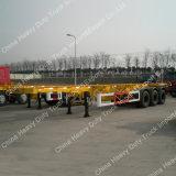 새로운 상태 Sino HOWO 콘테이너 트레일러 트랙터 트럭