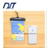 Высокой мешок мобильного телефона PVC шаржа определения напечатанный таможней водоустойчивый