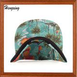 Sombrero floral de encargo de los 5 paneles de la manera de la promoción