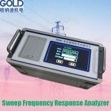 Analyseur de réponse en fr3quence de mouvement circulaire du transformateur Gdrz-902, appareil de contrôle d'enroulement de transformateur