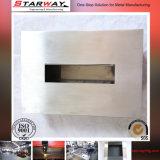 Fabricação de chapa metálica personalizada com estampagem, dobramento, soldagem, perfuração, perfuração