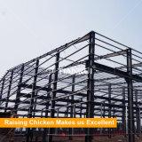プレハブの鉄骨構造の養鶏場の建物