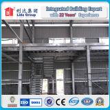 Magazzino prefabbricato della struttura d'acciaio