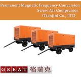Motore elettrico portatile che guida il compressore d'aria rotativo della vite