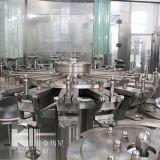 De llavero terminar la cadena de producción en botella del jugo
