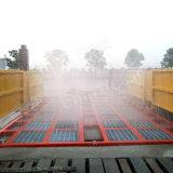 Equipamento de limpeza de caminhões para construção