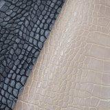 ワニの皮総合的なPUの革、織り目加工の浮彫りにされた袋の革