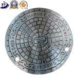 manhole Manufacturer의 위생 하수구 맨홀 뚜껑을 던지는 철