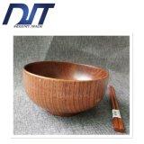 Шар салата Reative по-разному размера естественный относящий к окружающей среде деревянный