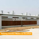 Пусковая площадка испарительного охлаждения сота целлюлозы для дома цыплятины