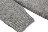 Cardigan lungo unisex lavorato a maglia Hoodie di inverno con la chiusura lampo